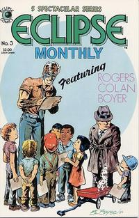 Cover Thumbnail for Eclipse Monthly (Eclipse, 1983 series) #3