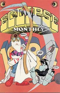 Cover Thumbnail for Eclipse Monthly (Eclipse, 1983 series) #4