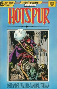 Cover Thumbnail for Hotspur (Eclipse, 1987 series) #1