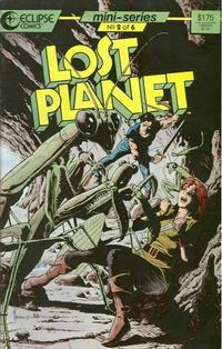 Cover Thumbnail for Lost Planet (Eclipse, 1987 series) #2