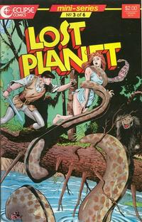 Cover Thumbnail for Lost Planet (Eclipse, 1987 series) #3