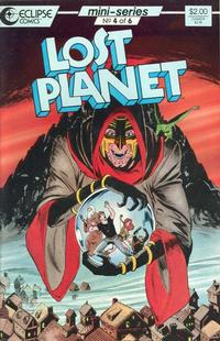 Cover Thumbnail for Lost Planet (Eclipse, 1987 series) #4