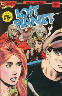 Cover Thumbnail for Lost Planet (Eclipse, 1987 series) #6