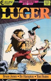 Cover Thumbnail for Luger (Eclipse, 1986 series) #1