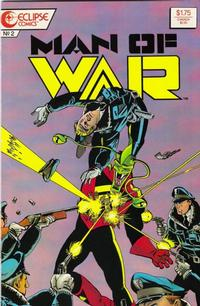 Cover Thumbnail for Man of War (Eclipse, 1987 series) #2