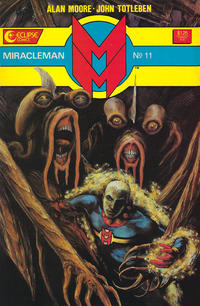 Cover Thumbnail for Miracleman (Eclipse, 1985 series) #11