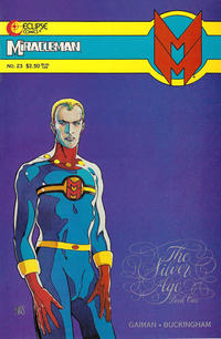 Cover Thumbnail for Miracleman (Eclipse, 1985 series) #23