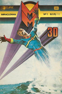 Cover Thumbnail for Miracleman 3-D (Eclipse, 1985 series) #1