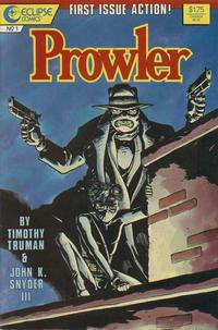 Cover Thumbnail for The Prowler (Eclipse, 1987 series) #1