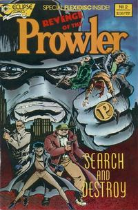 Cover Thumbnail for The Revenge of the Prowler (Eclipse, 1988 series) #2