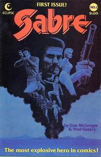 Cover Thumbnail for Sabre (Eclipse, 1982 series) #1