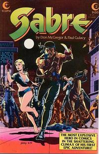 Cover Thumbnail for Sabre (Eclipse, 1982 series) #2