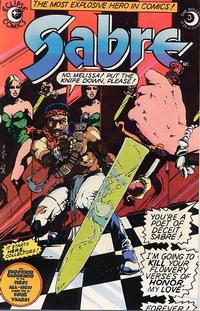 Cover Thumbnail for Sabre (Eclipse, 1982 series) #3