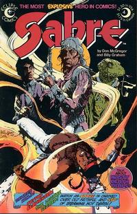 Cover Thumbnail for Sabre (Eclipse, 1982 series) #4