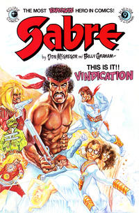 Cover Thumbnail for Sabre (Eclipse, 1982 series) #9