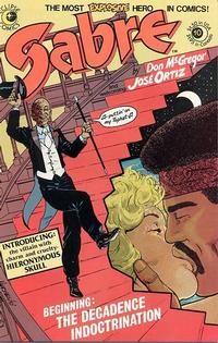 Cover Thumbnail for Sabre (Eclipse, 1982 series) #10