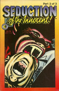 Cover Thumbnail for Seduction of the Innocent (Eclipse, 1985 series) #3