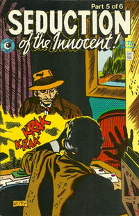 Cover Thumbnail for Seduction of the Innocent (Eclipse, 1985 series) #5