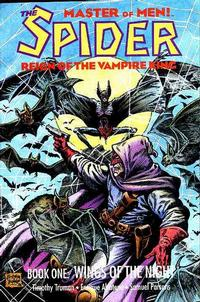 Cover Thumbnail for The Spider: Reign of the Vampire King (Eclipse, 1992 series) #1