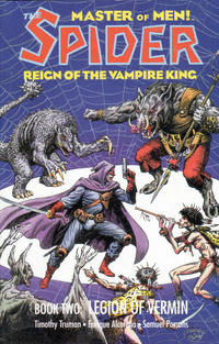 Cover Thumbnail for The Spider: Reign of the Vampire King (Eclipse, 1992 series) #2