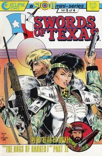 Cover Thumbnail for Swords of Texas (Eclipse, 1987 series) #2