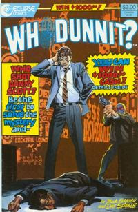 Cover Thumbnail for Whodunnit? (Eclipse, 1986 series) #1