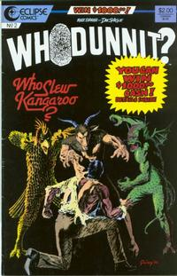 Cover Thumbnail for Whodunnit? (Eclipse, 1986 series) #2