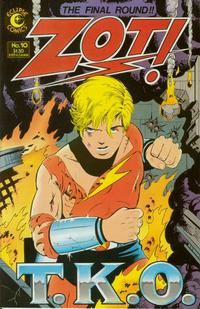 Cover Thumbnail for Zot! (Eclipse, 1984 series) #10