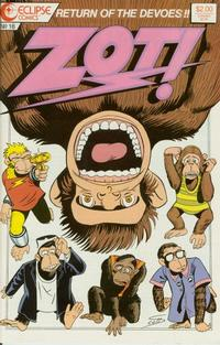 Cover Thumbnail for Zot! (Eclipse, 1984 series) #16