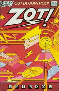 Cover Thumbnail for Zot! (Eclipse, 1984 series) #18