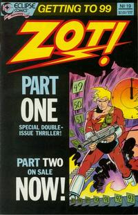 Cover Thumbnail for Zot! (Eclipse, 1984 series) #19