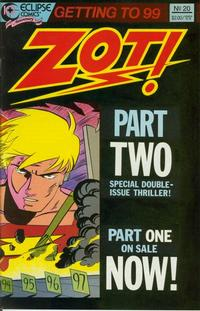 Cover Thumbnail for Zot! (Eclipse, 1984 series) #20