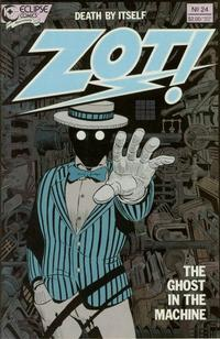 Cover Thumbnail for Zot! (Eclipse, 1984 series) #24