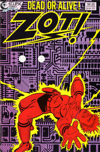 Cover Thumbnail for Zot! (Eclipse, 1984 series) #25