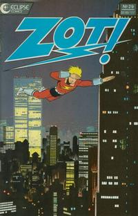 Cover Thumbnail for Zot! (Eclipse, 1984 series) #29