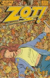 Cover Thumbnail for Zot! (Eclipse, 1984 series) #30