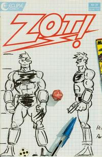 Cover Thumbnail for Zot! (Eclipse, 1984 series) #31