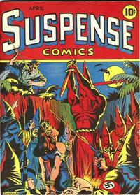Cover Thumbnail for Suspense Comics (Temerson / Helnit / Continental, 1943 series) #3