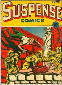 Cover Thumbnail for Suspense Comics (Temerson / Helnit / Continental, 1943 series) #4