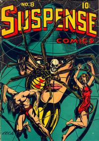 Cover Thumbnail for Suspense Comics (Temerson / Helnit / Continental, 1943 series) #8