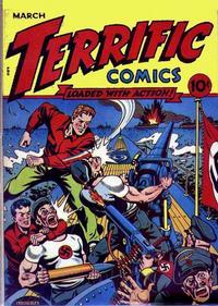 Cover Thumbnail for Terrific Comics (Temerson / Helnit / Continental, 1944 series) #2
