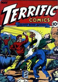 Cover Thumbnail for Terrific Comics (Temerson / Helnit / Continental, 1944 series) #3
