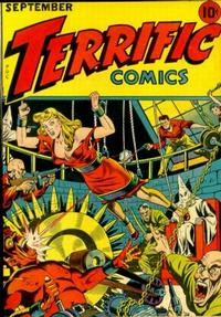 Cover Thumbnail for Terrific Comics (Temerson / Helnit / Continental, 1944 series) #5