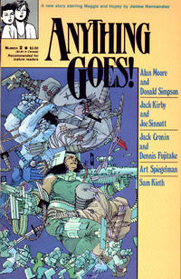 Cover Thumbnail for Anything Goes! (Fantagraphics, 1986 series) #2