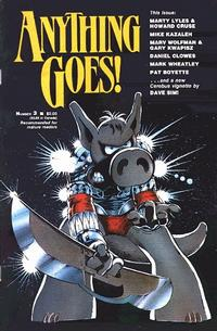 Cover Thumbnail for Anything Goes! (Fantagraphics, 1986 series) #3