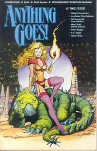 Cover for Anything Goes! (Fantagraphics, 1986 series) #4