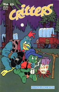 Cover Thumbnail for Critters (Fantagraphics, 1986 series) #13