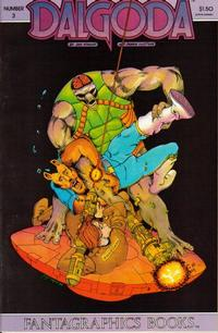 Cover Thumbnail for Dalgoda (Fantagraphics, 1984 series) #3