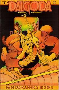 Cover Thumbnail for Dalgoda (Fantagraphics, 1984 series) #5