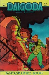 Cover Thumbnail for Dalgoda (Fantagraphics, 1984 series) #6